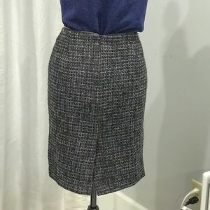 Dalia Collection wool blend skirt size M